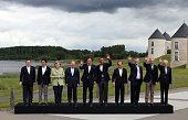 Leaders President of the European Commission Jose Manuel Barroso Japanese Prime Minister Shinzo Abe German Chancellor Angela Merkel Russia's...