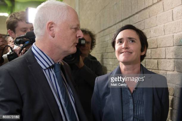 UKIP leadership candidate Anne Marie Waters arrives at the their autumn conference ahead of the announcement of the election result of the new UKIP...