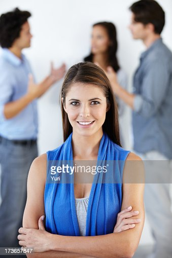 Leadership qualities: Revelling in the Business World : Stock Photo