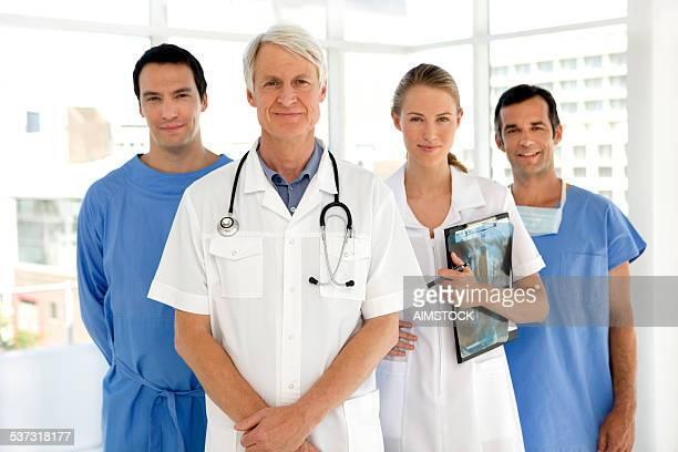 Leading a medical team
