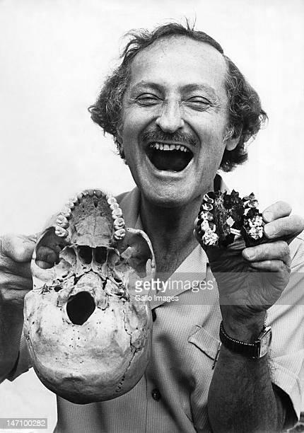 Leading SA paleoanthropologist Phillip Tobias on October 6 1976