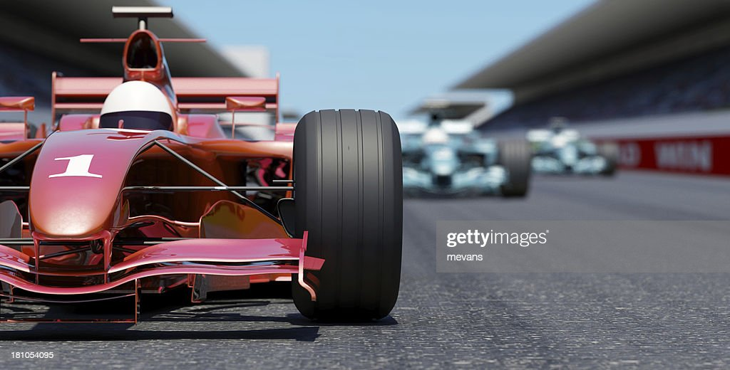 Leading the Race : Stock Photo