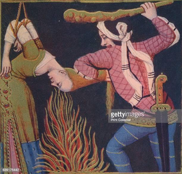 Leaena Femme Publique' Leaina was a hetaera and the mistress of Aristogeiton the Tyrannicide The illustration is part of the manuscript De Claris...