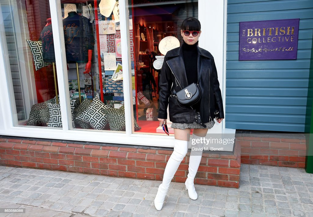 Opening Of The New Bicester Village And The Launch Of The British Collective