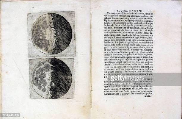Leaf of book Sidereus Nuncius by Galileo Galilei 1610 Found in the collection of the Università di Padova