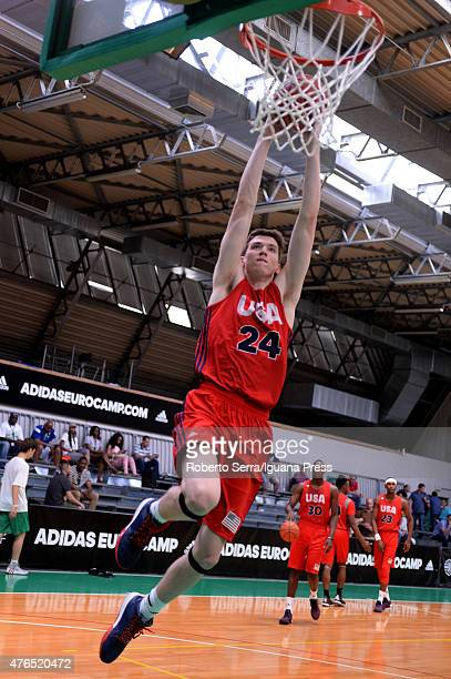 Leaf of team USA in action during adidas Eurocamp at La Ghirada sports center on June 8 2015 in Treviso Italy
