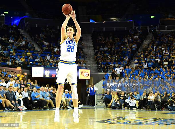 Leaf of the UCLA Bruins shoots a jumper during the game against the Pacific Tigers at Pauley Pavilion on November 11 2016 in Los Angeles California