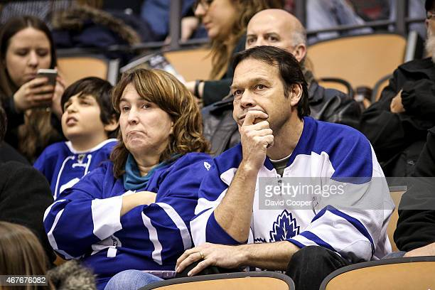 TORONTO ON MARCH 26 Leafs fans not too happy towards the end of the game between the Toronto Maple Leafs and the Florida Panthers Panthers win 41 at...