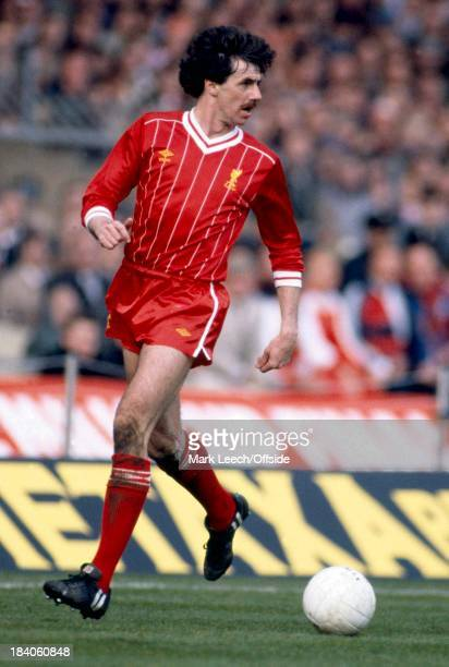 League Cup Final Liverpool v Manchester United Liverpool defender Mark Lawrenson