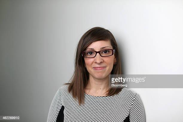 Leah Busque chief executive officer of TaskRabbit Inc poses for a photograph following a Bloomberg Television interview in London UK on Monday Jan 26...