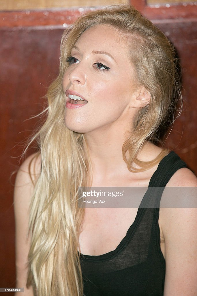 <a gi-track='captionPersonalityLinkClicked' href=/galleries/search?phrase=Leah+Jenner&family=editorial&specificpeople=9897291 ng-click='$event.stopPropagation()'>Leah Jenner</a> rehearses before performing at <a gi-track='captionPersonalityLinkClicked' href=/galleries/search?phrase=Brandon+%26+Leah&family=editorial&specificpeople=10916581 ng-click='$event.stopPropagation()'>Brandon & Leah</a> perform at the Hotel Cafe on July 13, 2013 in Hollywood, California.