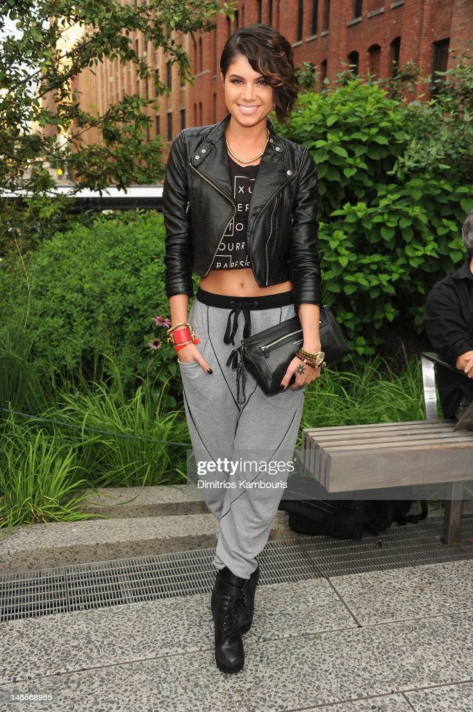 Leah LaBelle attends the Summer Party on the HIGH LINE Presented by COACH at The Highline on June 19 2012 in New York City