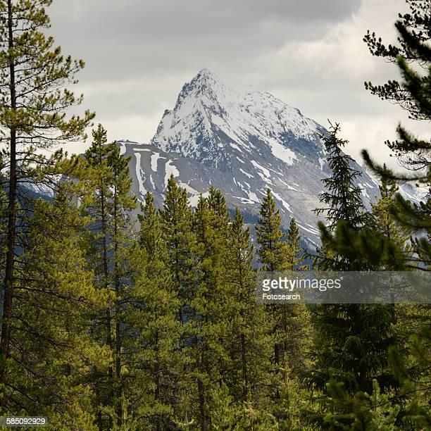 Leah Peak in Malign Lake