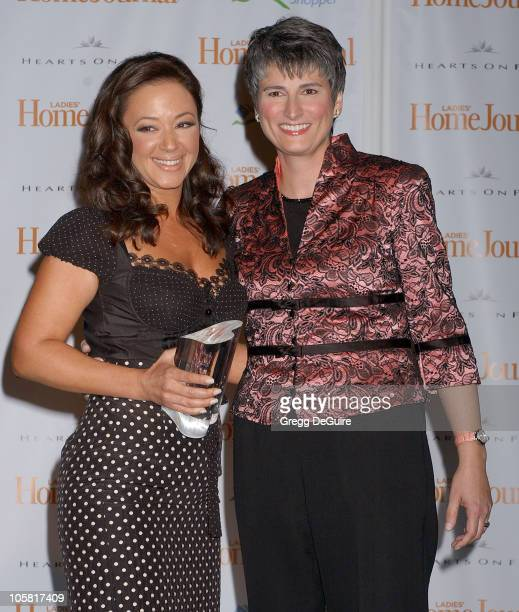 Leah Remini and Diane Salvatore EditorinChief of Ladies' Home Journal