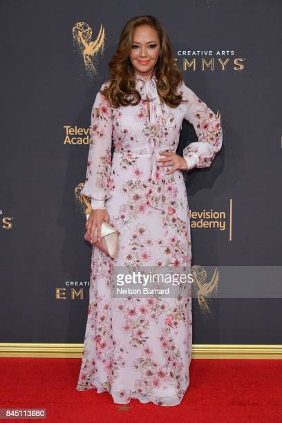 Leah Remini attends day 1 of the 2017 Creative Arts Emmy Awards at Microsoft Theater on September 9 2017 in Los Angeles California