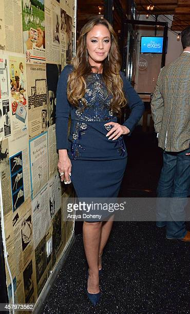 Leah Remini attends 'The Exes' Season 4 which premieres November 5 at 1030p ET/PT at Wirtshaus LA on October 27 2014 in Los Angeles California