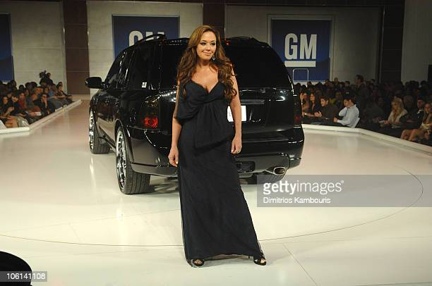 Leah Remini during 6th Annual GM Ten Show in Los Angeles California United States