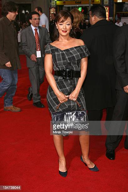 Leah Remini during Tom Cruise Fan Club Screening of 'Mission Impossible III' in Los Angeles Arrivals at Grauman's Chinese Theater in Hollywood CA...