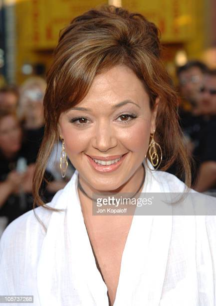 Leah Remini during 'War of the Worlds' Los Angeles Premiere and Fan Screening Arrivals at Grauman's Chinese Theater in Los Angeles California United...