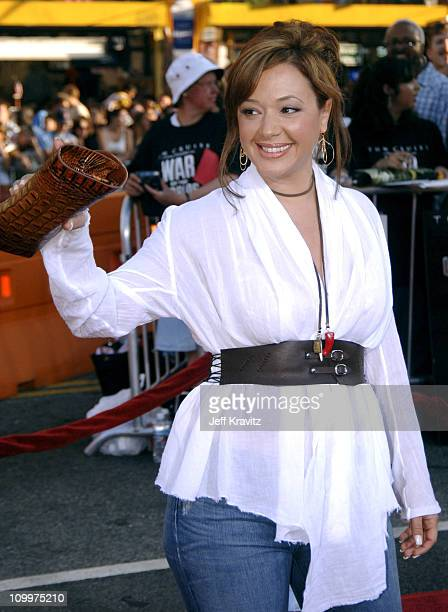 Leah Remini during War of the Worlds Los Angeles Premiere and Fan Screening Arrivals at Grauman's Chinese Theater in Los Angeles California United...