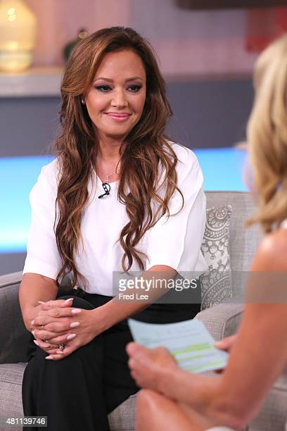 AMERICA Leah Remini is a guest on 'Good Morning America' 7/17/15 airing on the ABC Television Network LEAH
