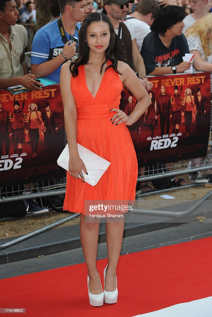 Leah Weller attends the European Premiere of 'Red 2' at Empire Leicester Square on July 22, 2013 in London, England.