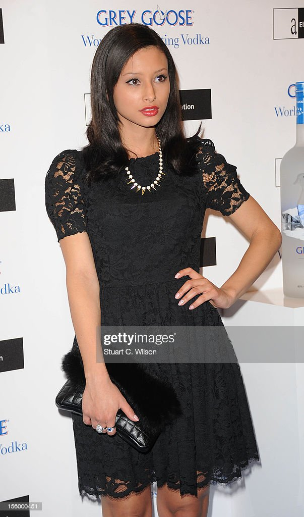 Leah Weller attends the Grey Goose Winter Ball at Battersea Power station on November 10, 2012 in London, England.