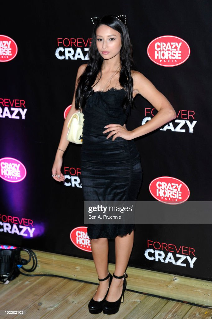 Leah Weller attends the premiere of Crazy Horse on September 19, 2012 in London, England.