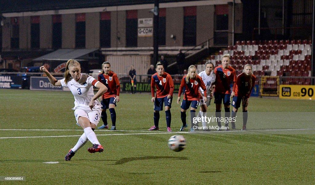 England U19 Retake Last Minute Penalty Against Norway