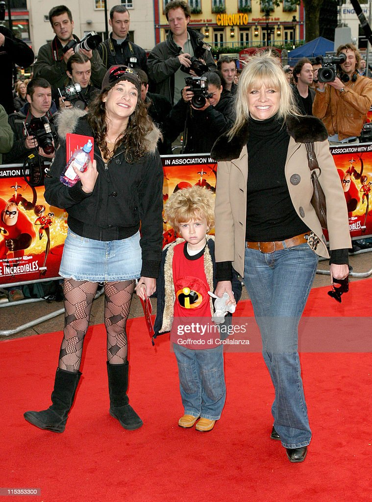 Leah Wood and Jo Howard Wood during 'The Incredibles' London Premiere at Empire Leicester Square in London, United Kingdom.