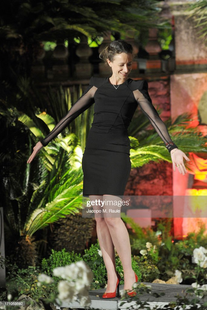 Leah Wood attends Cash & Rocket On Tour Women for Women - Gala Dinner and Auction on June 16, 2013 in Rome, Italy.