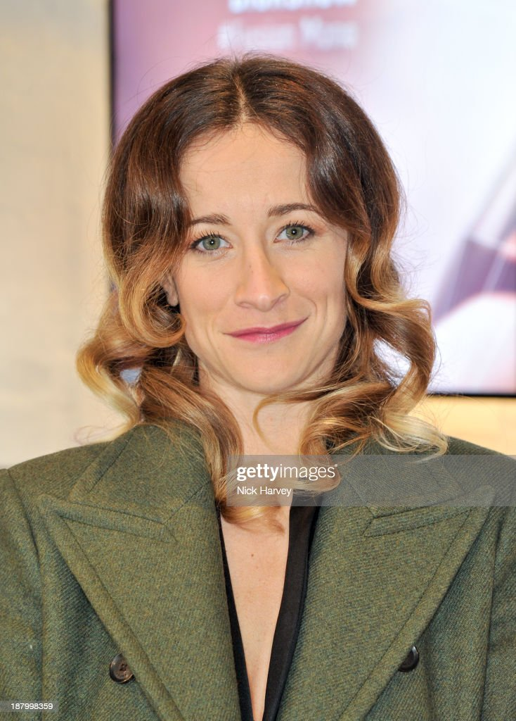Leah Wood attends the opening of Dior Beauty Boutique on November 14, 2013 in Covent Garden, London, England.