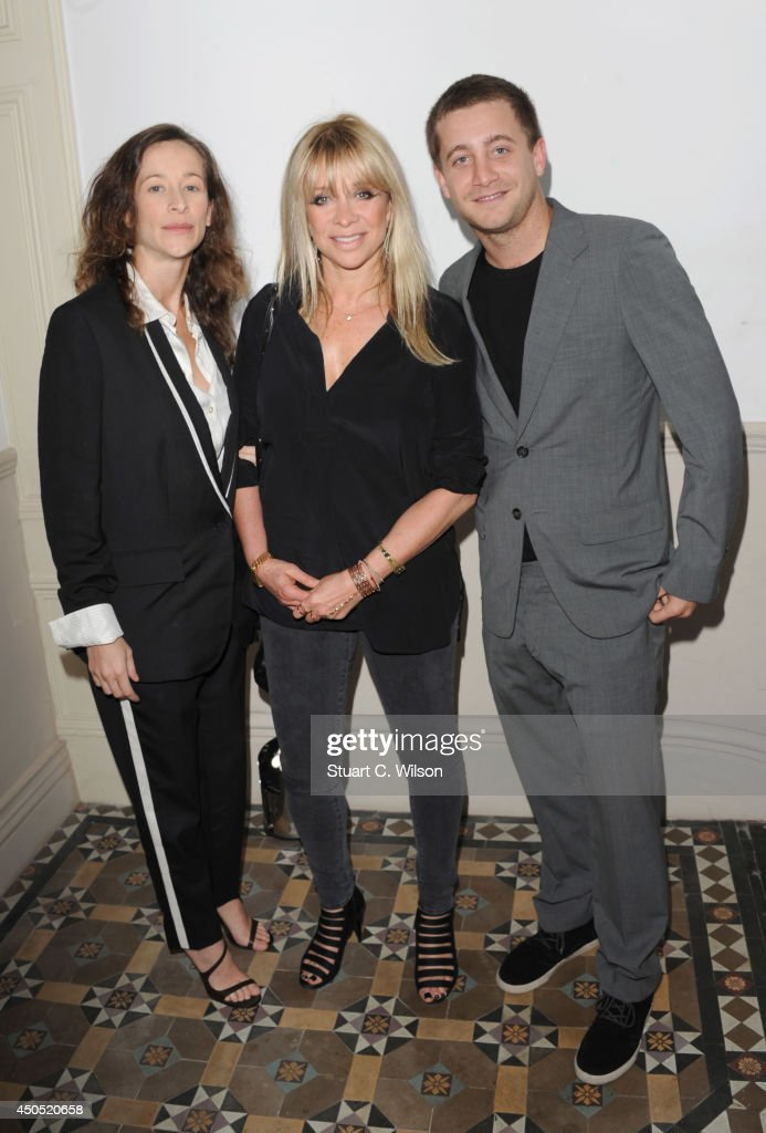 Leah Wood, Jo Wood and Tyrone Wood attend 'Heist' launch, London's first 'Anti-Gallery', showcasing fine art photography from around the world on June 12, 2014 in London, England.