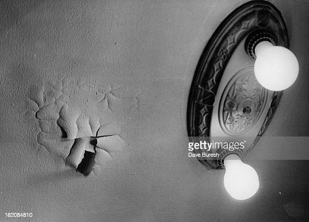 OCT 1 1976 OCT 8 1976 OCT 9 1976 A leak in Roof Caused paint To Peel Who will pay for repair old owner or the buyer