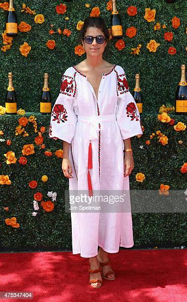 Leandra Medine attends the 8th Annual Veuve Clicquot Polo Classic at Liberty State Park on May 30 2015 in Jersey City New Jersey