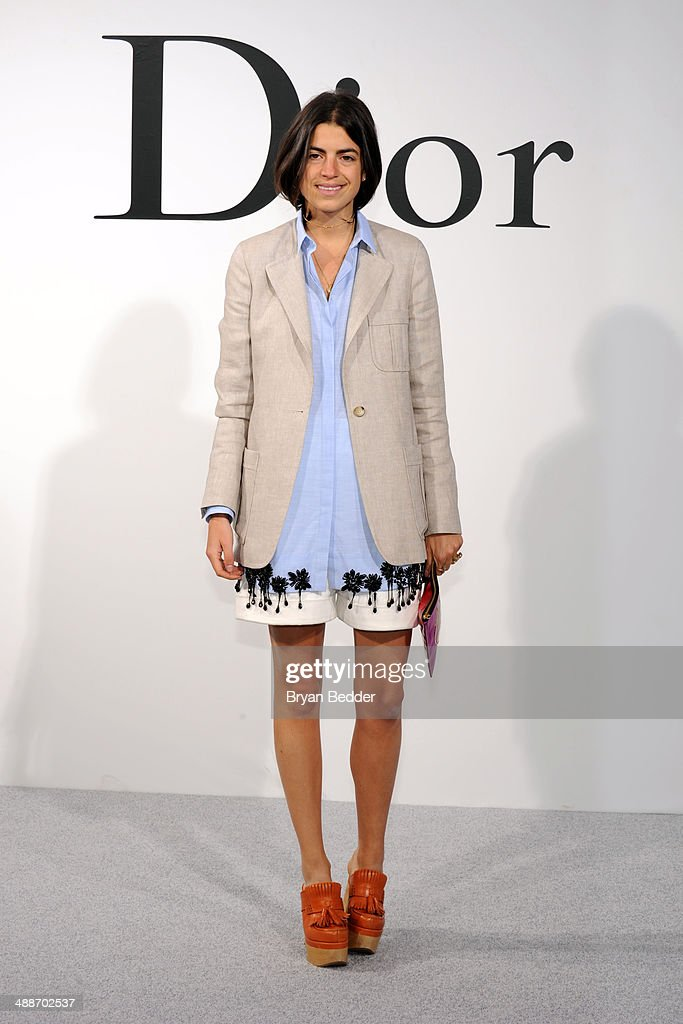 Leandra Medine attends the Christian Dior Cruise 2015 Show on May 7, 2014 in Brooklyn, New York City.