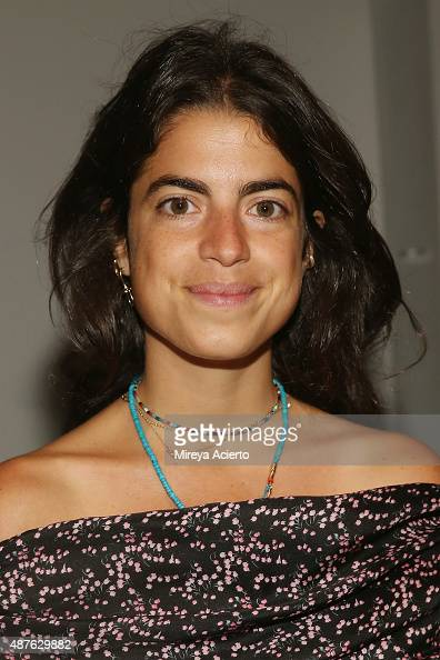 Leandra Medine attends the Creatures Of The Wind fashion show during Spring 2016 New York Fashion Week at SIR Stage37 on September 10 2015 in New...