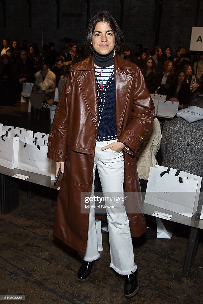 Maiyet - Front Row & Backstage - Fall 2016 New York Fashion Week