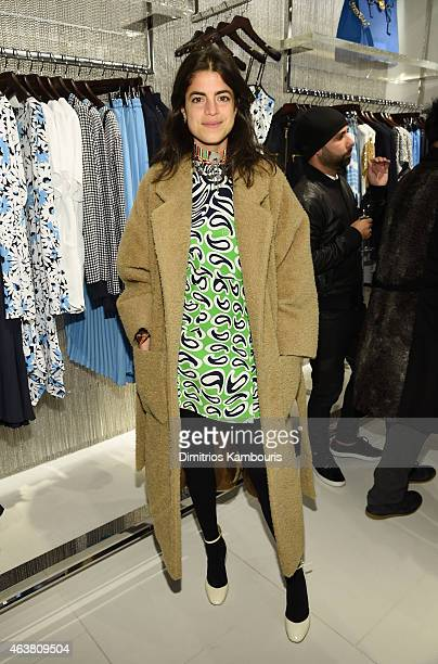 Leandra Medine attends the Michael Kors Miranda Eyewear Collection Event on February 18 2015 in New York City