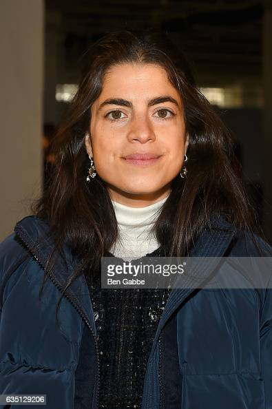 Leandra Medine attends the Proenza Schouler collection during New York Fashion Week The Shows on February 13 2017 in New York City