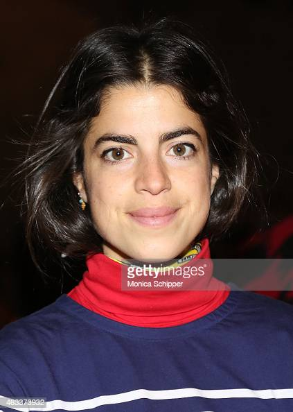 Leandra Medine attends the Sally LaPointe fashion show during MercedesBenz Fashion Week Fall 2015 at Skylight Modern on February 13 2015 in New York...