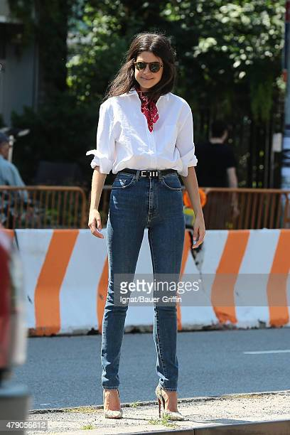 Leandra Medine is seen on June 30 2015 in New York City