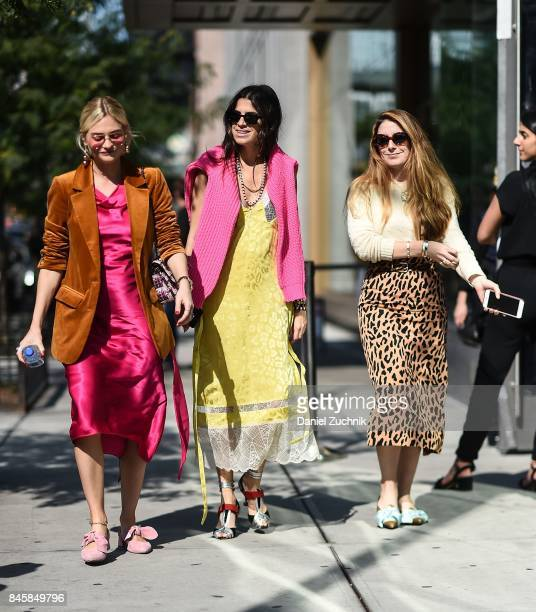 Leandra Medine is seen outside the 31 Phillip Lim show show during New York Fashion Week Women's S/S 2018 on September 11 2017 in New York City