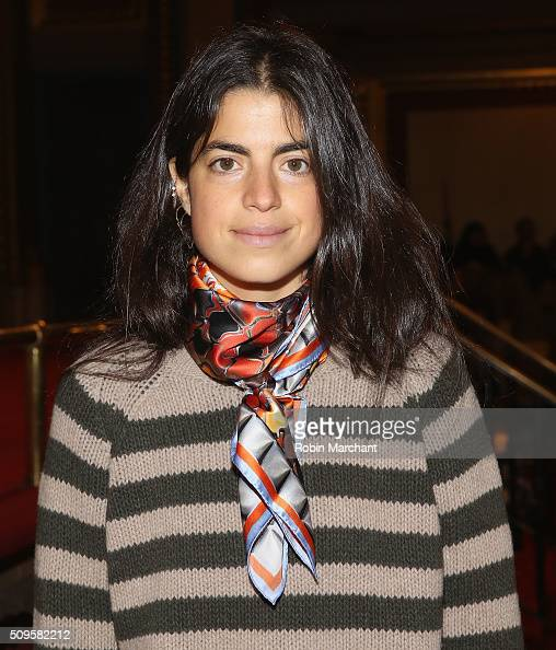 Leandra Medine of Man Repeller attends Creatures of the Wind during Fall 2016 New York Fashion Week on February 11 2016 in New York City