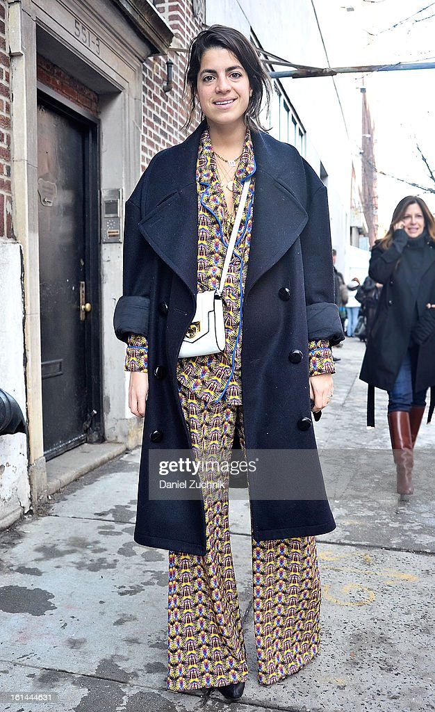 <a gi-track='captionPersonalityLinkClicked' href=/galleries/search?phrase=Leandra+Medine&family=editorial&specificpeople=7491795 ng-click='$event.stopPropagation()'>Leandra Medine</a> seen outside the Thakoon show on February 10, 2013 in New York City.