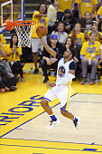 Leandro Barbosa of the Golden State Warriors drives to the basket during Game Two of the 2016 NBA Finals against the Cleveland Cavaliers on June 5...