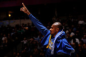 Leandro Barbosa of the Golden State Warriors during the game against the Denver Nuggets on March 13 2015 at the Pepsi Center in Denver Colorado NOTE...