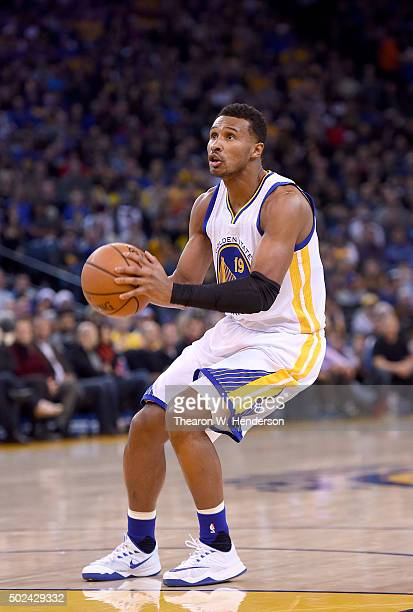 Leandro Barbosa of the Golden State Warriors looks to shoot against the Utah Jazz during their NBA basketball game at ORACLE Arena on December 23...