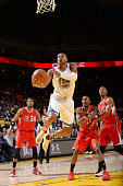 Leandro Barbosa of the Golden State Warriors shoots the ball against the Los Angeles Clippers on November 4 2015 at ORACLE Arena in Oakland...