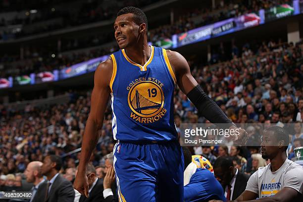 Leandro Barbosa of the Golden State Warriors takes the court against the Denver Nuggets at Pepsi Center on November 22 2015 in Denver Colorado The...
